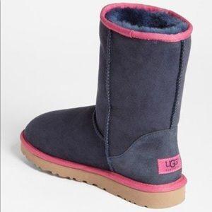 Ugg blue short boots